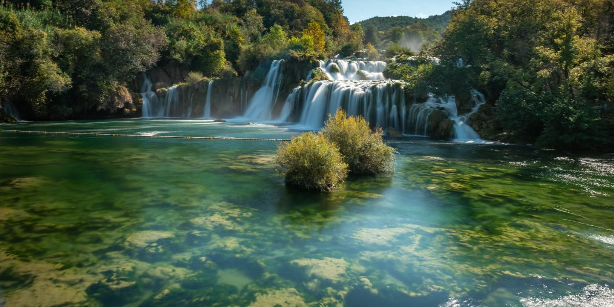 Krka waterfalls and wine tasting